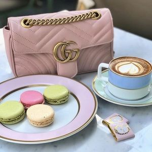 Pink purse GG Marmont